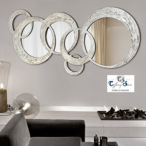 Pintdecor SPECCHIERA Decorata A Mano Circles