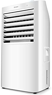 Aire acondicionado portátil - gran tanque de agua de 10 litros, 4 velocidades, de tres en uno, el agua a casa en silencio en movimiento la máquina solo ventilador de aire acondicionado frío -38X31X76c