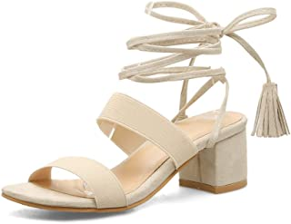 BalaMasa Womens ASL06479 Imitated Suede Fashion Sandals