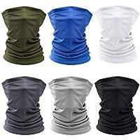 6-Pieces Suprbird Sun UV Protection Breathable Face Mask