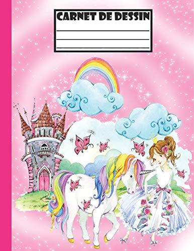 Carnet de dessin: Pour les enfants de 4 à 8 Ans/100 Grandes Papiers Blancs Pour Dessin