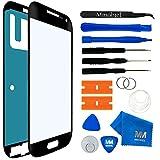MMOBIEL Kit Reemplazo de Pantalla Táctil Compatible con Samsung Galaxy S4 Mini i9190 i9195 (Negro) Incl Herramientas