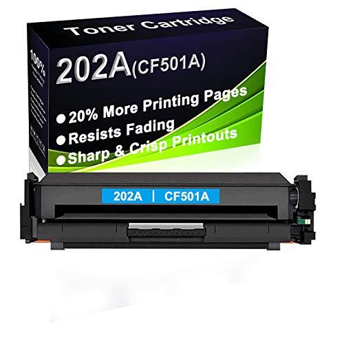 Cartucho de tóner compatible de alto rendimiento 202A (CF501A) para impresoras HP Color LaserJet Pro M254dn M254dw M254nw MFP M281cdw M281fdw M281fdn M280nw
