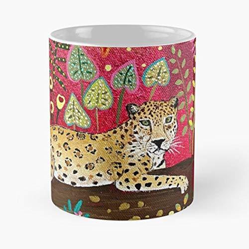 Modoux Birds Jaguar Parrot Magali of Tucan Tropical Rainbow Emmy World Rainforest Eat Food Bite John Best Taza de café de cerámica de 325 ml