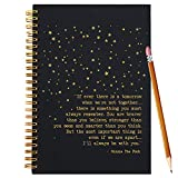 Slothoem You're Braver Than You Believe | Inspirational winnie the pooh Spiral Notebook/Journal | Motivationa Birthday Christmas Graduation Gift for Best Friends/sisters