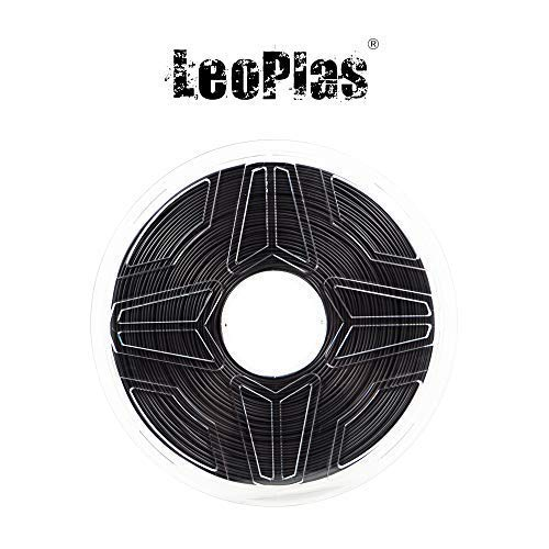 LeoPlas New Store USA Spain China Warehouse Global Shipping 1.75mm Black Nylon PA Filament 2 Colors 1Kg 2.2 Pounds FDM 3D Printer Pen Supplies Plastic Printing Material Polyamide