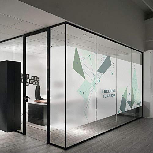 BLTMIT Technologie-Era bedrijf matglas film kantoor deur en raam partitie glassticker commerciële hal glasstickers -90cmx120cm
