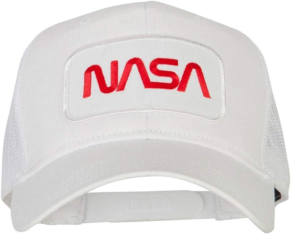 e4Hats.com NASA Logo Embroidered Bargain Back Cap Patched Max 42% OFF Mesh