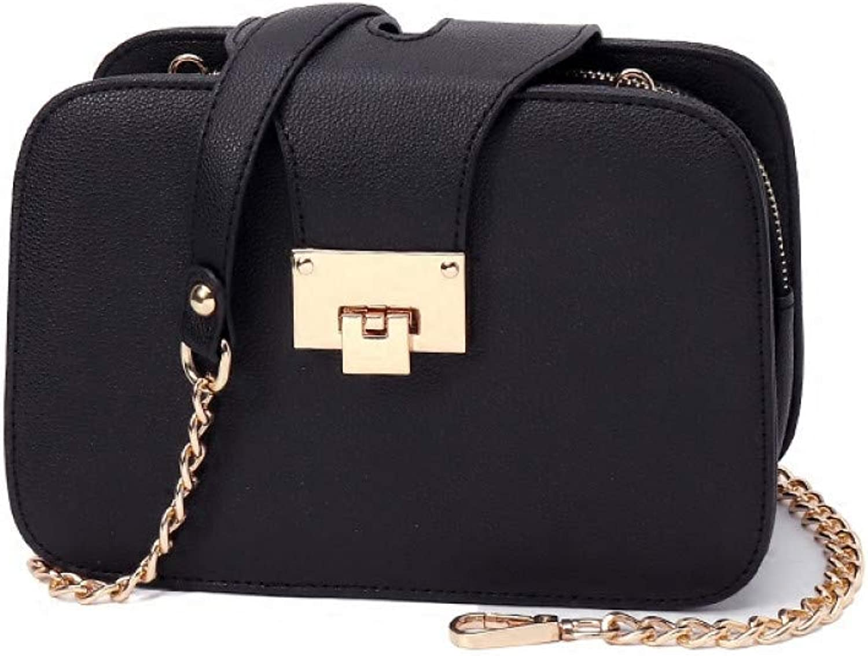 JQSM Women Shoulder Bag Chain Strap Designer Handbags Clutch Bag Ladies Messenger Bags with Met Spring Fashion