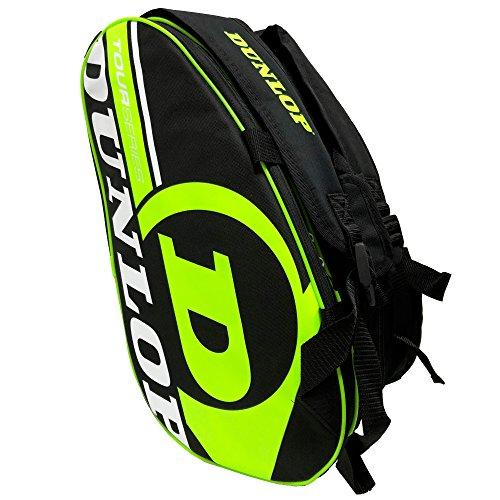 Dunlop Paletero de pádel Tour Intro Negro/Amarillo Flúor