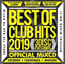 AV8 ALL STARS / BEST OF CLUB HITS 2019-3DISC 150SONGS-