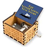 niaoyun -Neverending Neal Story-Wood/Wooden Music Box to My Love for Boyfriend Girlfriend Manivela grabada caja musical