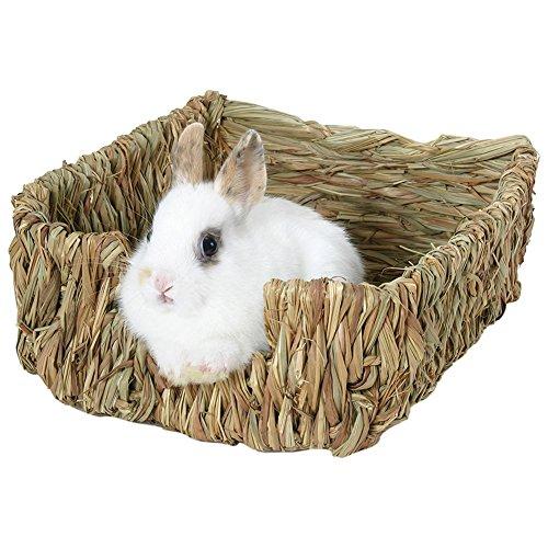 Somedays Nido de hierba y cama natural para cobayas, chinchillas y conejos