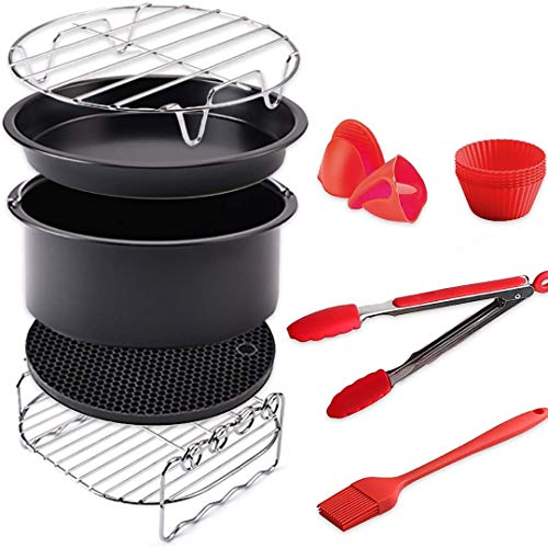 Air Fryer Accessories for Cosori Ninja and Philips Set of 5 Fit all 3.7QT ...