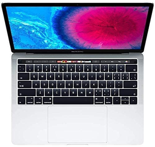 Apple MacBook Pro 13.3' con Touch Bar (i5-7267u 3.1ghz 8gb 512gb SSD) QWERTY U.S Teclado MPXV2LL/A Mitad 2017 Plata (Reacondicionado)