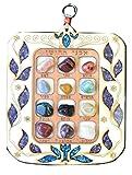 Handmade Wall Hanging Wood Hoshen / Priestly Breastplate.birthstones Made Israel