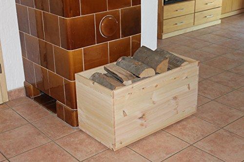 Holztruhe Holzkiste Truhe, 80x40x45cm - 2