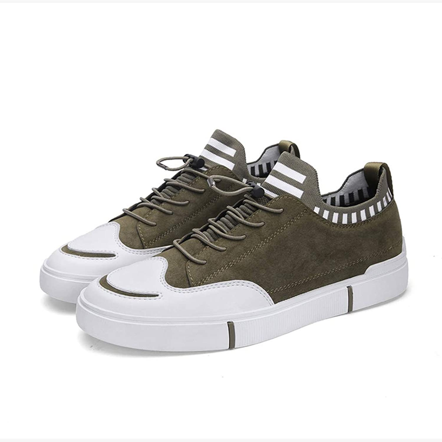 Y H Men's Casual shoes, Mesh Spring Fall New Flat shoes