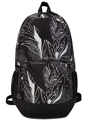 Hurley Printed Renegade Mochilas, Mujer, Oil Grey, 1SIZE