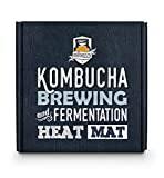 Kombucha Heater | Fermentaholics Kombucha Brewing and Fermentation Heat Mat | Keep Your SCOBY Happy and Productive by Brewing in The Proper Temperature Range