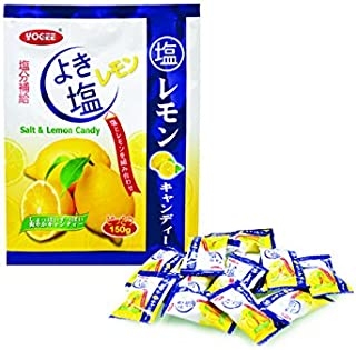 Malaysia Best Brand/Yogee Salt & Lemon Candy/Sweet, Salty, Lemony/Perfect Kick, Awesome Treats! / 150g/pack