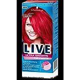 3 x Schwarzkopf Live Color XXL Ultra Brights Semi-Permanent Colour 92 Pillar Box Red
