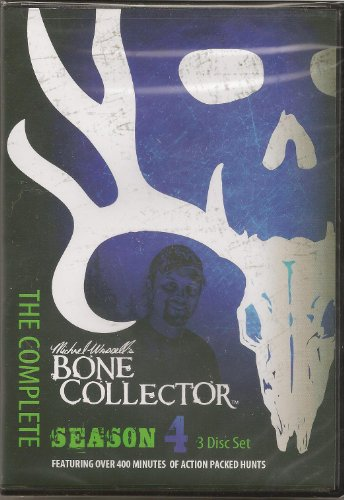 Bone Collector Tv Season 4 Complete 3 DVD Set Hunting Mike Waddell