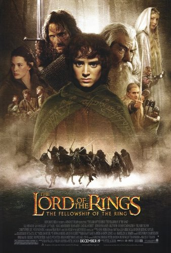(27x40) Lord of the Rings 1: The Fellowship of the Ring Group Movie Poster