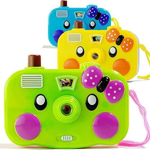 Xiton Projektions Kamera Spielzeug Cartoon Kinder leuchtende Spielzeuge für Spiel Haus Spiel (Zufalls Farbe) 1pcs
