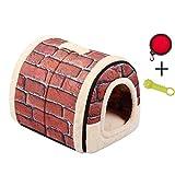 Enko Luxury Cozy 2-in-1 Pet House et Canapé, De Haute...