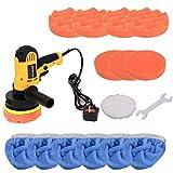 Youyijia Polishing Machine Kit 600W Polisher and Buffers Waxing Polishing Sponge Pads Kit for Car Sanding Polishing Waxing Sealing Glaze