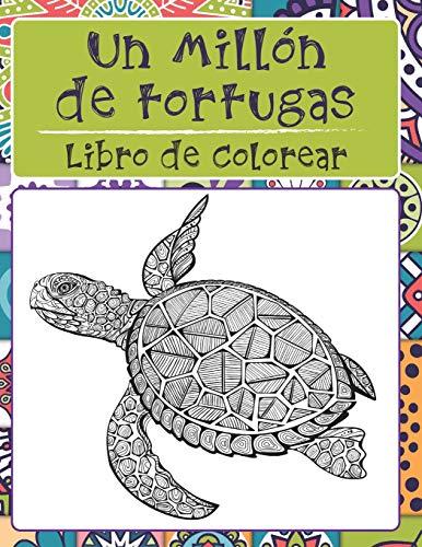 Un millón de tortugas - Libro de colorear