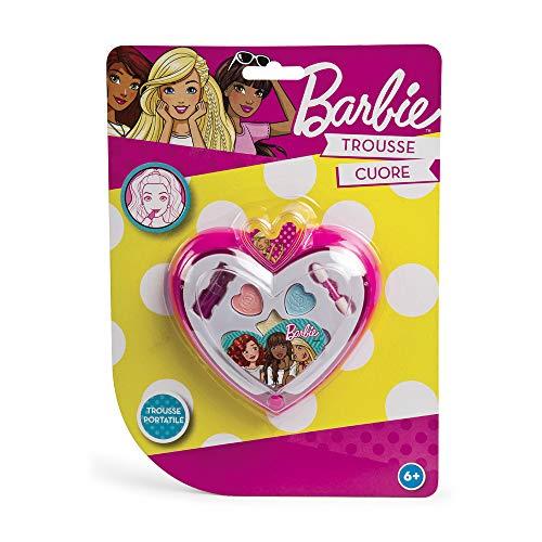 Grandi Giochi- Trousse Cuore Barbie, Multicolore, GG00540