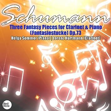 Schumann: Three Fantasy Pieces for Clarinet & Piano (Fantasiestucke) Op.73