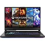 ASUS ROG Gaming STRIX-G17-G712LU-H7015T PC Portable 17,3'' FHD 120Hz (Intel I7-10750H, RAM 16G DDR4 (8G x 2), 512Go SSD, Optimus NVIDIA GeForce GTX 1660Ti 6GB, WINDOWS 10) Clavier AZERTY Français