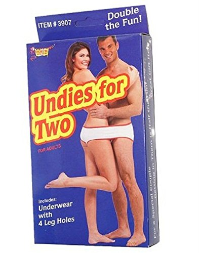 Fundies - Underwear for two Gag Novelty