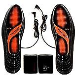 Suelas calentables Thermosoles con dos pasos cálidos, tamaño: 36-47, lavable