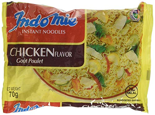 Indomie Instant Noodles Chicken Flavor 70g (Box of 40) - Product of Ghana
