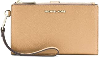 MICHAEL Michael Kors Women's Mercer Pebble Phone Wristlet Black