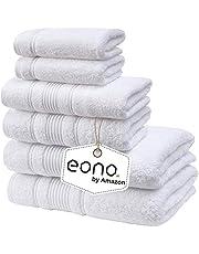 Eono by Amazon, Toallas de SPA y Hotel Juego de Toallas de 6 Piezas