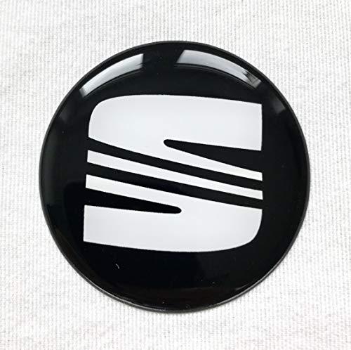 4 Stk Rad Mitte Aufkleber 62mm für Radkappen SeatLogo Embleme Mittelkappen 3D