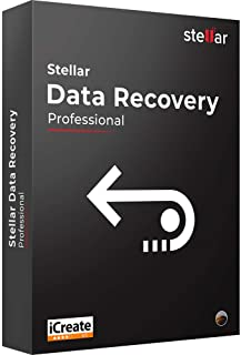 Stellar Data Recovery Software | For Mac | Professional | Recover Deleted Data, Photos, Videos from Mac | 1 Device, 1 Yr Subscription | CD