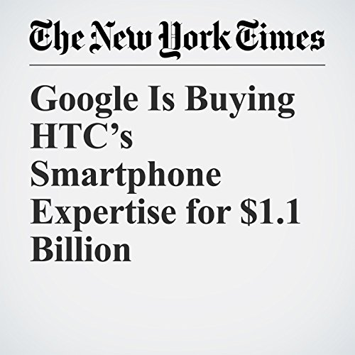 Google Is Buying HTC's Smartphone Expertise for $1.1 Billion copertina