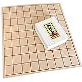 将棋セット 新榧5号折り畳み式将棋盤+木製将棋駒のセット