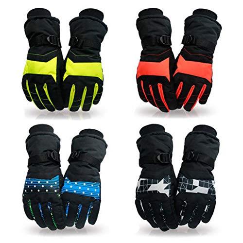 YSHTAN Skiën Handschoenen Winter Equipment Handschoenen Thermische Geïsoleerde Winter Sneeuw Outdoor Sport Mannen Vrouwen Skiën Snowboard Handschoenen - Groen L
