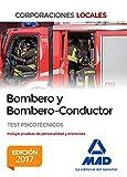 Bombero y Bombero-Conductor. Test Psicotécnicos