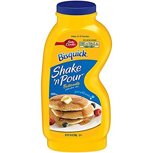 Bisquick SHAKE #039N POUR Buttermilk Pancake Mix 106oz 4 Pack by Betty Crocker