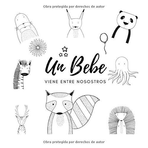 Un Bebe viene entre nosostros: Libro de visitas para guardar un largo recuerdo de reacciones, consejos, felicitaciones, deseos para el bebé. Para ... del embarazo, el baby shower, el bautizo.