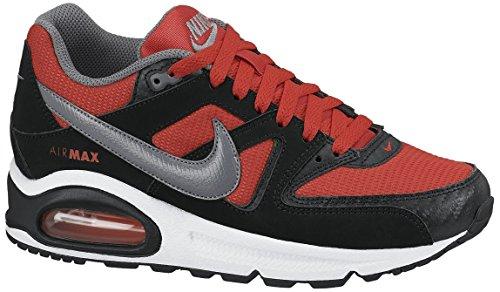 Nike Sneaker Air Max Command (Gs) schwarz/rot EU 38.5 (US 6)