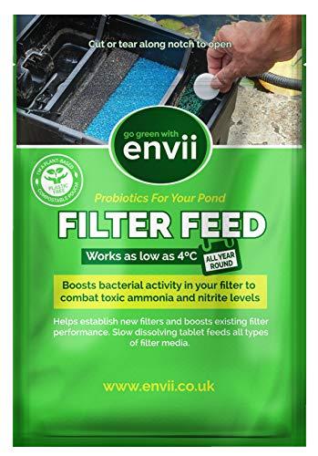 Envii Filter Feed – Traitement bactérien pour Filtre à Bassin – Traite 20 000 litres